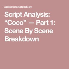 Script Supervisor Notes Template | What I do on set as Scripty ...
