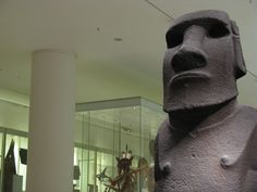 On behalf of the Rapa Nui people, the Chilean government will ask for the return of a sacred Easter Island statue from the British Museum. British Museum, Easter Island Statues, Art World, Art History, News, Paintings, Google, Painting, Draw