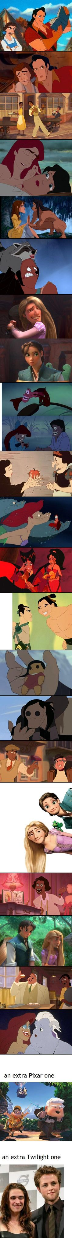 I'm not a huge Disney fan but these literally made me laugh out loud.
