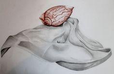 """Disegno dal vero. Alunna: Alice Capuano 2A a.s.2014/2015 Liceo Artistico """"Stagio Stagi"""" Pietrasanta"""