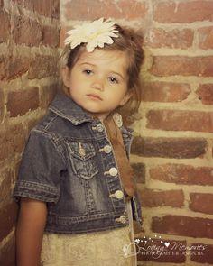 3 year old girl photo shoot!