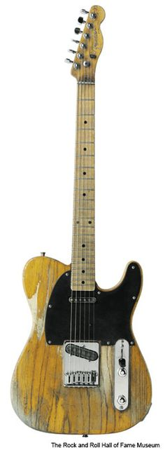 Bruce Springsteen's Fender Esquire. The Esquire was introduced in 1950, soon followed by a two-pickup version, the Broadcaster, which was renamed Telecaster.