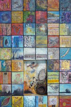 Stepping Stones - Andrea Bird - Ontario Encaustic Artist