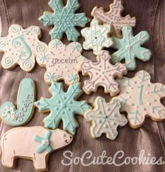 cute idea for a winter birthday party