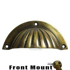 $11.70: Gado Gado GAD-48732 cup pull Unlacquered Antique Brass Gado Gado - Pull Collection