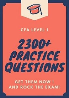 44 Best CFA Level 1 Tips images in 2019 | Exams tips, Tips