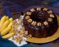 Recept Bananen Chocolade Cake. Bananen Chocolade Cake, om je vingers erbij op te eten!