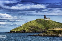 Ballycotton lighthouse Little Island, Ireland Travel, Lighthouses, Cork, Irish, To Go, Mountains, Water, Outdoor