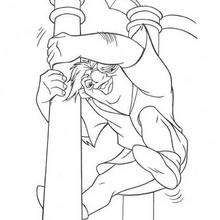 38 coloring pages for The Hunchback of Notre Dame