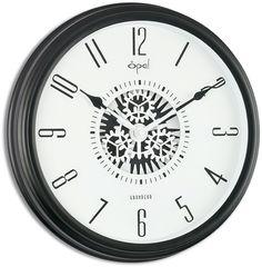 "12"" Metal Case Pendulum Wall Clock"