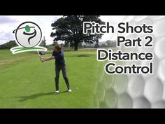 So in part 1 we looked at proper set up and how that will improve your pitching technique on the golf course.  We also covered some set up adjustments to help you gain better control over your pitch shot distances (which is what pitching is really all about)…  In this lesson, we'll take a closer look at distance control.
