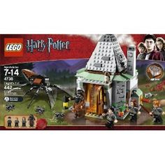 Amazon.com: LEGO Harry Potter Hagrid's Hut (4738): Toys & Games