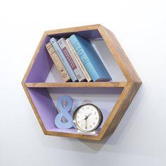 Honeycomb Shelf Modern Furniture Geometric Minimalist