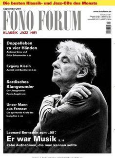 """Leonard #Bernstein zum """"99"""". Er war #Musik 🎶 10 Aufnahmen, die man kennen sollte  Jetzt in FonoForum:  #WestSideStory"""