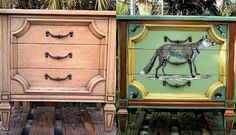Amazing what you can upcycle with a little time and some paint: http://www.huffingtonpost.com/hometalk/dumpster-dive-treasures_b_5783458.html
