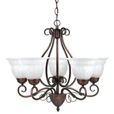Globe Electric 65573 Beatrice 5 Light Candelier Large Weathered Bronze *** Check this awesome product by going to the link at the image. (Note:Amazon affiliate link) #Lighting