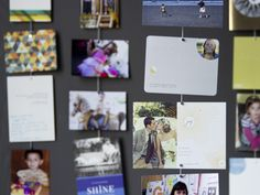 Mishu Designs Mighty Magnet Photo Cables -- the perfect, stylish solution to displaying all those photo Christmas cards you got this year Rare Earth Magnets, Kids Artwork, Hanging Photos, Photo Magnets, Shinee, Holiday Cards, Christmas Cards, Holiday Decor, Unique Gifts