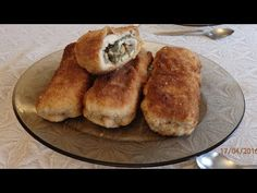 Kotlety de volaille z pieczarkami i serem - YouTube Polish Recipes, Polish Food, Bread Recipes, French Toast, Recipies, Chicken, Cooking, Breakfast, Youtube