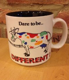Dare-To-Be-Different-Rainbow-Spotted-Cow-Coffee-Tea-Pride-Mug-Funny-Ganz
