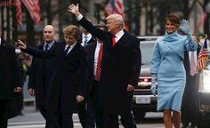 Novo presidente dos EUA: Na posse, Trump desfila próximo a protesto e violência