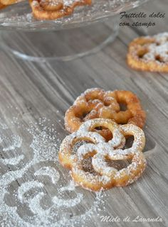 Frittelle dolci con stampo #mieledilavanda #food