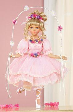 Porcelain Ballerina Doll Collectible