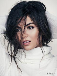 Victoria Justice beauty editorial