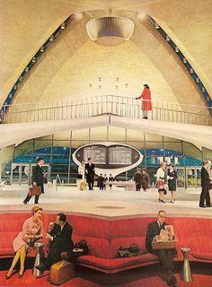 TWA Flight Center, JFK Airport, New York - 1962