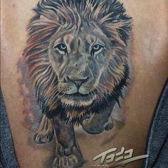 NICE LION @christian_johansson @fusion_inks