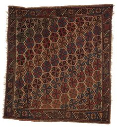 A MELAS YASTIK David Rockefeller, Types Of Rugs, Tribal Rug, Rugs On Carpet, Auction, Pillows, Collection, Bags, Handbags