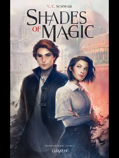 French cover of A Darker Shade of Magic, cover art by Charlie Bowater