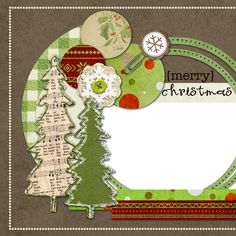 Copper Blossom Paperie: 12 Freebies Of Christmas - #2 - Digital Scrapbook ...