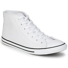Converse AS DAINTY LEATHER MID Bianco 350x350