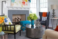 41 ideas inspiradoras para la decoración de su sala de estar - Decoracion de cuartos o habitaciones - recamaras - dormitorios