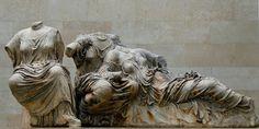East Pediment Of The Parthenon [British Museum]