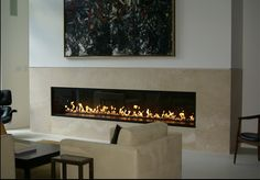 Image Detail for - Linear Gas Fireplace Feature Wall Fireplace Feature Wall, Tv Above Fireplace, Linear Fireplace, Basement Fireplace, Family Room Fireplace, Fireplace Remodel, Fireplace Surrounds, Fireplace Design, Fireplace Ideas