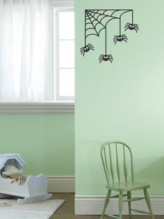 Spiders & Web Wall Decall by weeDecor on Gilt.com