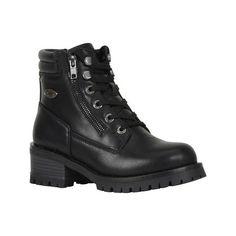 Lugz Flirt Hi Zip Women's Moto Boots, Size: medium Black, Durable Biker Boots, Motorcycle Boots, Combat Boots, Riding Boots, Lace Up Boots, Black Boots, Engineer Boots, Casual Boots, Casual Heels
