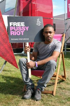 Rapper and MC Richard Kylea Cowie, known as #Wiley supports #FreePussyRiot. Join him and sign our petition now: www.amnesty.org/freepussyriot