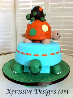baby shower boy cakes turtles | Turtle Cake