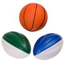 Bulk Mini Foam Footballs and Basketballs at DollarTree.com