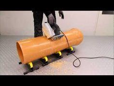 Exact Tools P400 PVC Cut and Bevel - YouTube