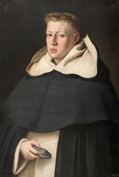 Juan Bautista Maino - Fray Alonso de santo Tomás, 1649