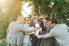 formal shots - bridal party 'candid' | photos by April Bennett Photography @April Bennett Photography