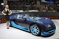 Bugatti Grand Sport Vitesse Ginebra 2012