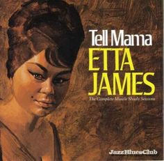Etta James - recording at Muscle Shoals, Alabama - pure soul music