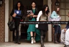 """Click for a #PrettyLittleLiars (#PLL) fashion recap from """"Cat's Cradle"""" - Pictured: Spencer Hastings (Pretty Little Liars)"""