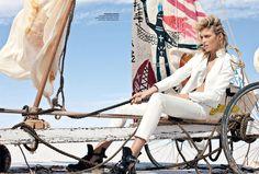 Anja Rubik for Vogue Australia April 2011 by Max Doyle
