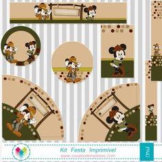 Festa Mickey e Minnie Safari mod:729