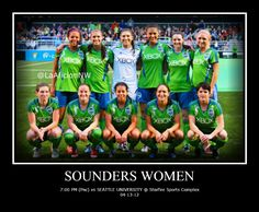 Sounders Women tonight @ Starfire Sports Complex 7:30 PM (Pac) vs Seattle University